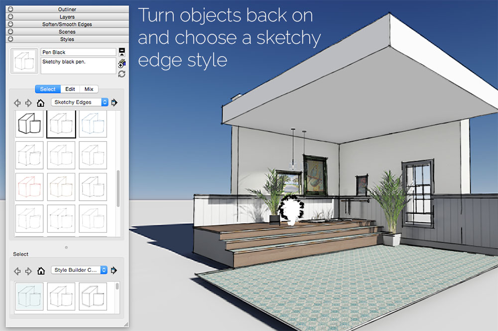 Combining Lumion and Sketchup Images – renga design